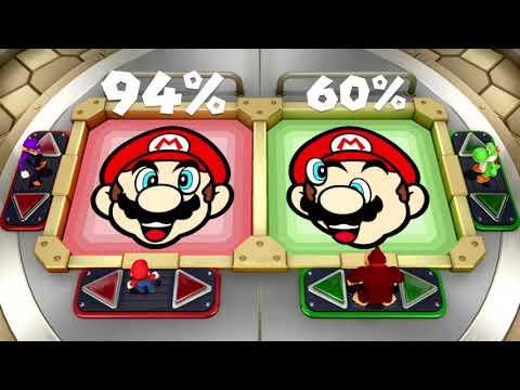 Super Mario Party - All Brainy Minigames | MarioGamers