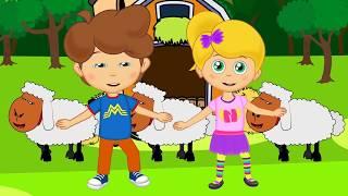 Ali Babanın Çiftliği - Sevimli Dostlar çizgi film çocuk şarkıları 2017 - Adisebaba TV Bebek Şarkı