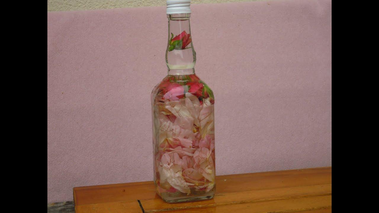 Kulinaria Rosenbluten Likor Selbst Gemacht Der Sommer In Der