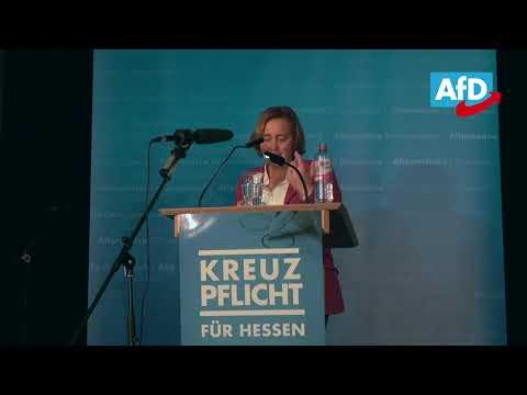 Rede von Beatrix von Storch in Frankfurt