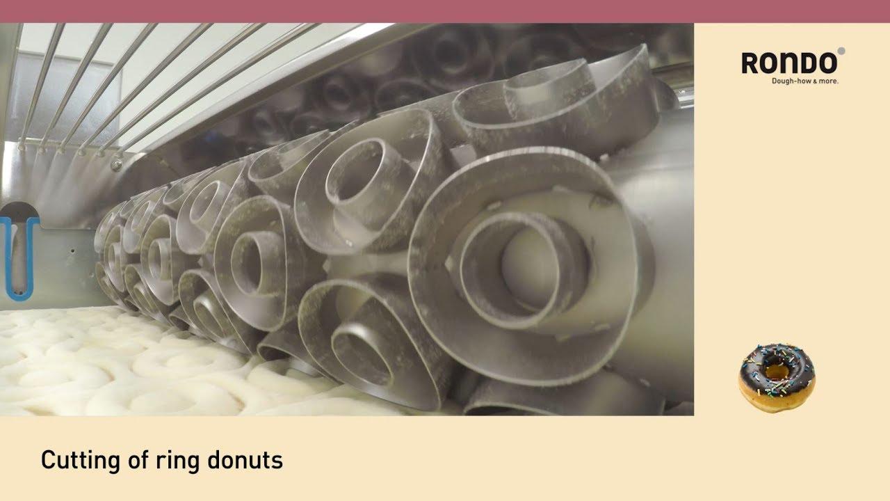 RONDO - Donut Production - up to 125 dozen/hour