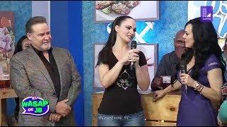Cesar Evora, Maribel Guardia y Ana Patricia Rojo en Wasap de JB YouTube Videos