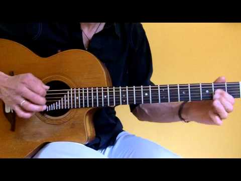 Drop B Tuning on acoustic guitar (Matthias Waßer)