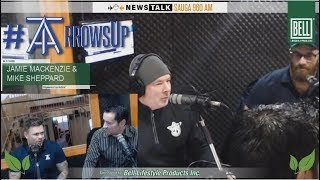 """RAW MIKE RICHARDS  The """"Arrows UP"""" weekly segment with the Toronto Arrows of MLR!"""