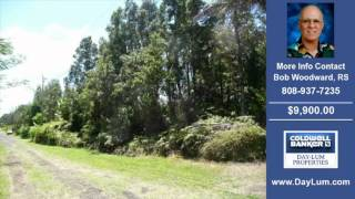 Land For Sale Puna HI Real Estate on 7500 SqFt-Acres $9900.00 Puna HI Bob Woodward RS