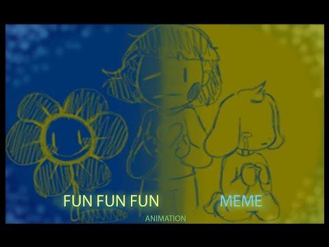 flowey (fun fun fun meme)