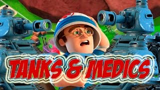 12X TANKS AND 16X MEDICS | Boom Beach | 146% POWER STONE STATUE