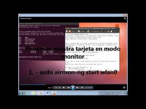 Como Hackear Redes Con  Ubuntu 12.04