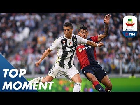 Ronaldo Reaches Another Landmark   Juventus 1-1 Genoa   Serie A