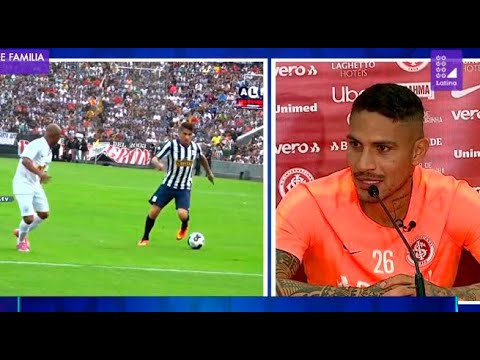 "Paolo Guerrero: ""No celebraré un gol contra Alianza Lima"""