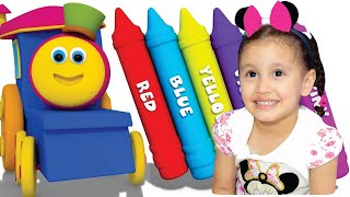 Color Song (Ice Pop) Nursery Rhymes & Kids Songs - Bia e Henry Kids