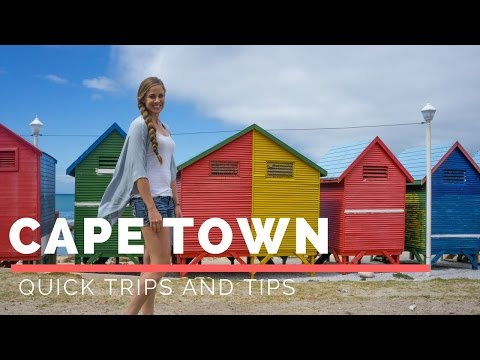 Quick Trips and Tips: Cape Town, South Africa