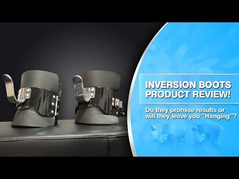 Inversion Boots- Intensify Your Ab Workouts Anywhere! - Product Review