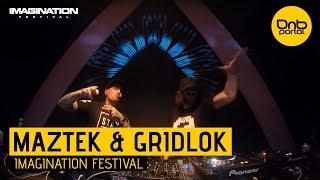 Maztek & Gridlok - Imagination Festival 2017 [DnBPortal.com]