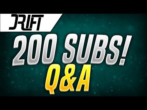 200 SUBSCRIBER Q&A!