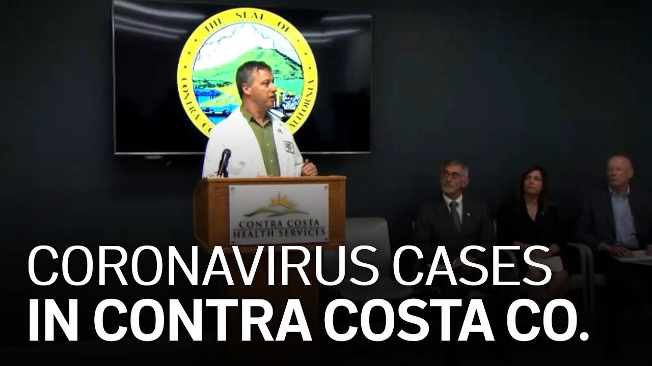 Raw Video Officials Announce 3 New Coronavirus Cases In Contra Costa County Youtube