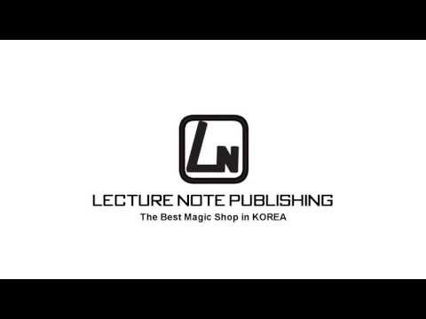 Lecture Note Publishing, The Best Magic Shop In KOREA