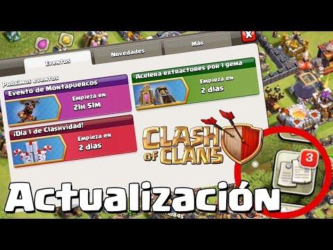 ¡¡SE REVELA LA NUEVA PESTAÑA DE EVENTOS!! | Clash of Clans con TheAlvaro845 | Español