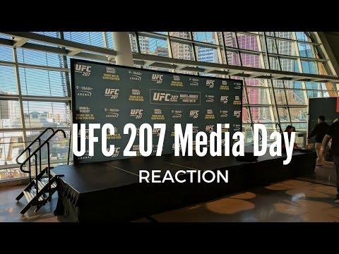UFC 207 Media Day With Dana White Reaction