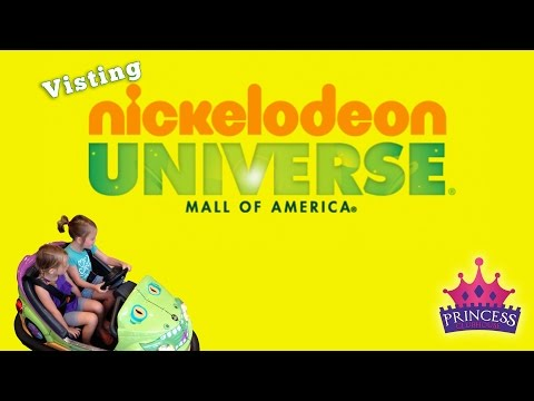 Exploring Mall Of America Nickelodeon Universe Princess Clubhouse