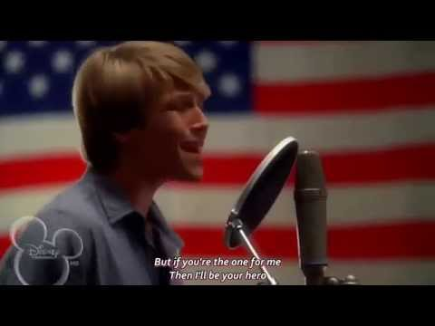 [HD] [Lyrics] Sterling Knight - Hero (Starstruck OST)
