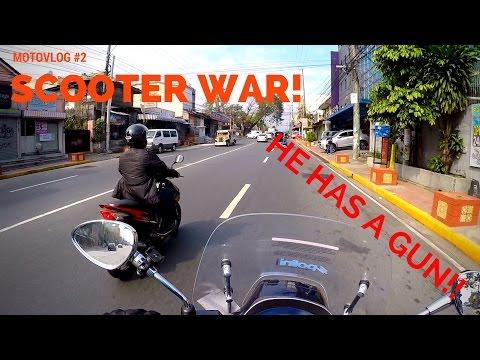 MOTOVLOG #2: SCOOTER WAR WITH VESPA SPRINT 150