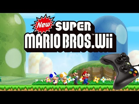 New Super Mario Bros. Wii On PC - Xbox 360 Controller - Dolphin 3.0 - 1080p 60fps