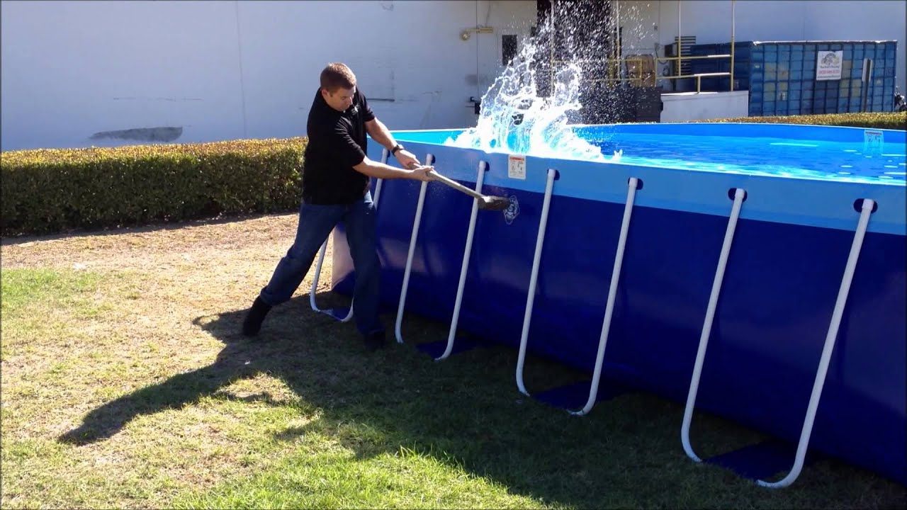 The New Quik Swim Pool By Splash A Round Pools Youtube