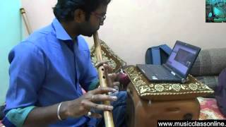 Online Flute Lessons for beginners Learn playing Flute on Skype videos Indian Flute Guru