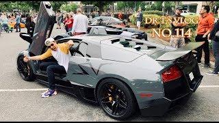 開馬克新收藏參加車聚 First Time in a Lamborghini Murcielago SV