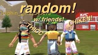 Random Video W/ Friends :D || ROBLOX || sweettiimes