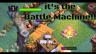 "Clash of Clans: ""THE BATTLE MACHINE"" is Wrecking Havoc!!"