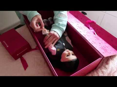 Opening My 3rd Create Your Own American Girl Doll!!