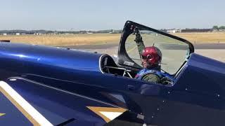 🎙Boris Fayard notre pilote de Voltige de retour de l'entrainement