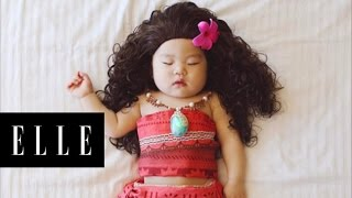 This Napping Baby is Taking the Internet by Storm | ELLE