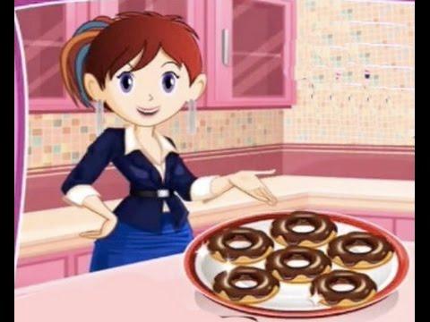 Donuts Juegos De Cocinar Con Sara Youtube
