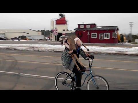Dead Deer On Bike | Jason Asselin