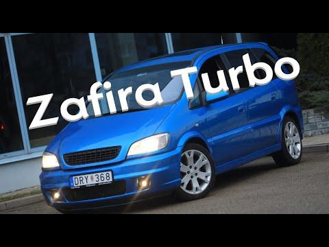 Opel Zafira Turbo OPC Mk1, спустя 18 лет.