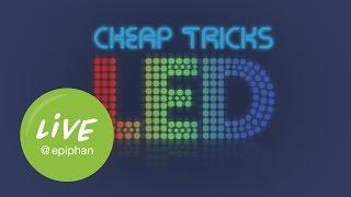 Cheap Tricks Make LED Video Lights Look Better