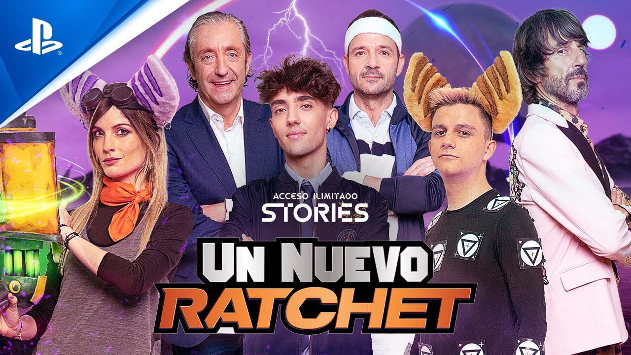 ACCESO ILIMITADO Stories presenta: UN NUEVO RATCHET con Ampeterby, Cristinini, Jordi Wild, Pedrerol