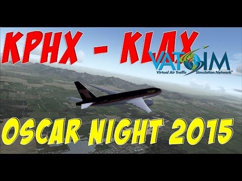[FSX:SE] PMDG 77L | Phoenix Sky Harbor to LA on Vatsim