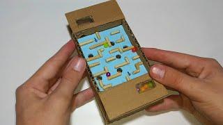 como fazer um jogo de labirinto em casa