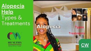ALOPECIA HAIR LOSS   TYPES OF ALOPECIA   GROW YOUR HAIR BACK   NATURAL HAIR CARE