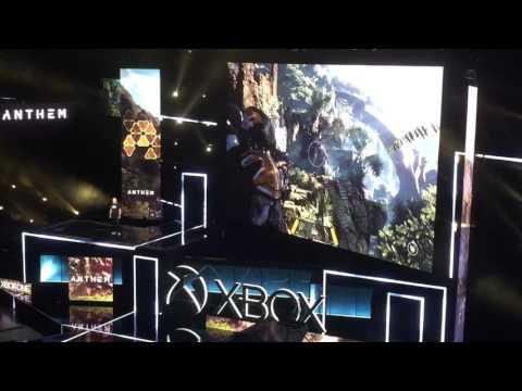 Microsoft Xbox Press Conference E3 2017 - Anthem Live Reaction