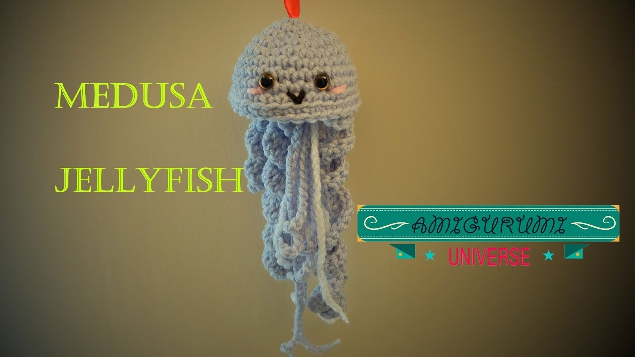 Medusa Tutorial Amigurumi. (Jellyfish English pattern). Amigurumi ...
