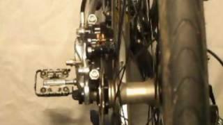 Scheibenbremse  schleiffrei einstellen  an Fahrräder