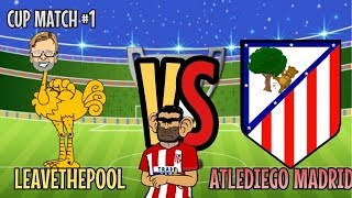 Liverpool vs atlético madrid 442oons super league cup round 1