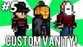Terraria Custom Vanity Outfits #5 (freddy Krueger, Jason, & Headless Horseman!) // Demize