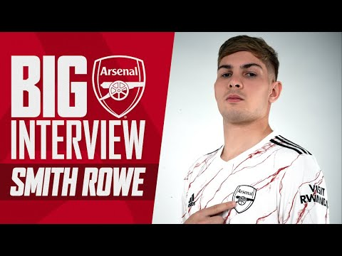 Emile Smith Rowe   'Being an Arsenal fan & wearing the shirt, there's no better feeling'