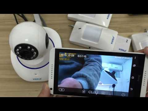 How to operate N62 camera alarm system